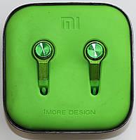 Наушники Xiaomi Piston 3 Green copy