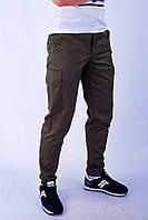 Мужские карго брюки от бренда ТУР Cargo Clasic цвет хаки