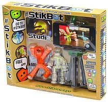 Набор Stikbot S1 Студия самостоятельной анимации, 2 стикбота + штатив - без сцены
