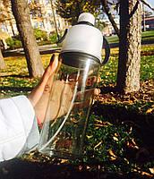 Спортивная бутылка со спреем New B. 600мл. черный