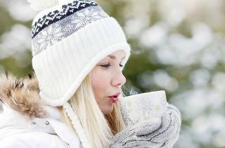 пить воду зимой чтобы согреться