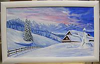 "Картина ""Зима в горах"""