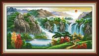 Высокие горы Набор для вышивки крестом
