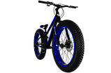 "Фэтбайк Cross Tank 24"" FatBike, фото 4"