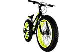 "Фэтбайк Cross Tank 24"" FatBike, фото 2"