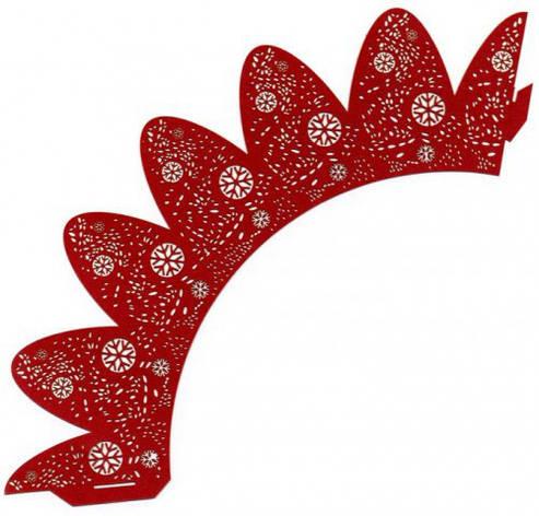 Накладка бумажная декоративная ажурная для маффинов разных цветов (уп 20 шт), фото 2