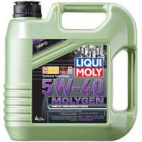 Синтетическое моторное масло Liqui Moly Molygen 5W-40 4л