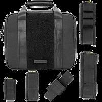 Сумка тактическая Nitecore NTC10 (Cordura 1050D) + комплект модульных карманов (5шт.), черная, фото 1