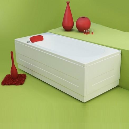 Прямоугольная акриловая ванна Fibrex Anca 1500х700х510 мм