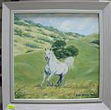 """Картина """"Белогривая лошадка"""", фото 2"""