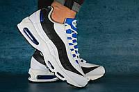 Мужские кроссовки Nike Air 95 White\Navy 00-00001515