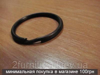 Заводные кольца (24мм) оксид, 20шт 04346