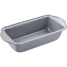 Форма для выпечки Lamart - Stone (LT3040) 26x11 см, сталь, мраморное покрытие, серый