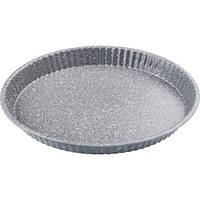 Форма для выпечки Lamart - Stone (LT3047) 31x3,5 см, сталь, мраморное покрытие, серый