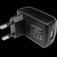 Адаптер 220V/USB для зарядки фонарей Nitecore