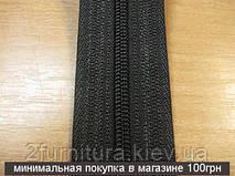 Молния рулонная на метраж Т3 (спираль) черный, 20м  1302