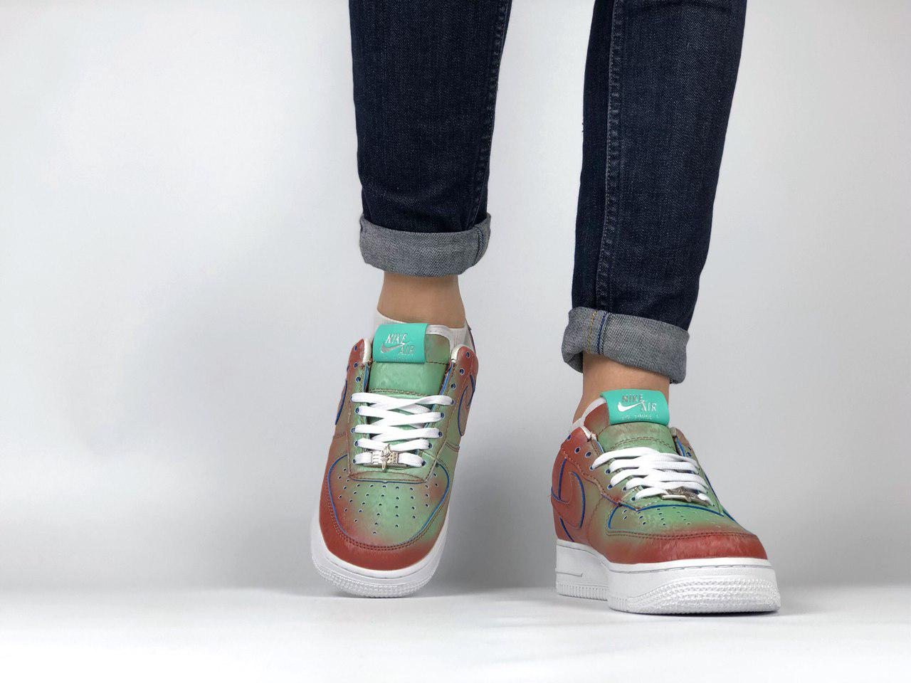 604435df ... Женские кроссовки Nike Air Force 1 Preserved Icons / Lady Liberty ,  Копия, ...