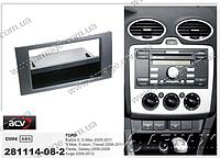 Рамка переходная ACV 281114-08-2 Ford Focus/ C-MAX 9/03 Ford Focus 2005 ANTHRACITE