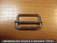 Регуляторы для сумок (25мм) никель, 20шт 4194