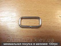 Рамки для сумок (16мм) никель, 100шт 4158