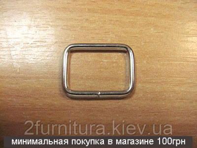 Рамки для сумок (20мм) никель, 50шт 4142