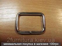 Рамки для сумок (30мм) никель, 20шт 4136