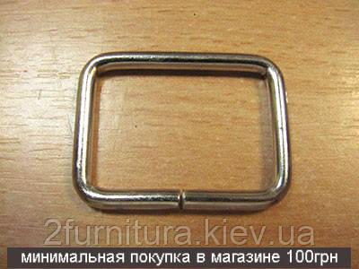 Рамки для сумок (30мм) никель, 20шт 04136