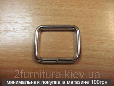 Рамки для сумок (25мм) никель, 20шт 4137