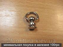 Винт-полукольцо никель, 10шт 5080