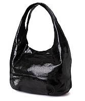 Сумка женская черная мешок из лазера 3632-1. Брендовые сумки, брендовые клатчи недорого в Одессе