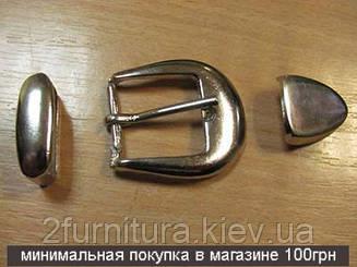 Пряжки (25мм) никель, 1шт 3052