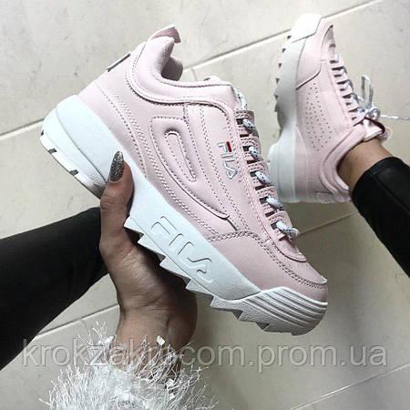 c9aa179c2fda Кроссовки Fila Disruptor II Pink replica AAA  продажа, цена в Львове ...
