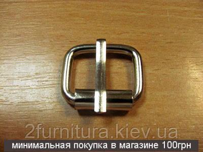 Пряжки для сумок (20мм) никель, 20шт 4126