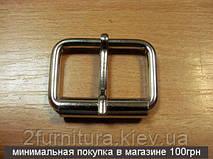 Пряжки для сумок (30мм) никель, 10шт 4124