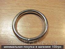 Кольца для сумок (27мм) никель, 10шт 4340