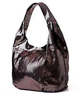 Сумка женская бронзовая мешок из лазера 3632-9. Брендовые сумки, брендовые клатчи недорого в Одессе