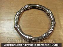 Кольца цельные для сумок (52мм) никель, 2шт 4305