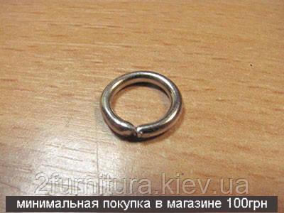 Кольца для сумок (9мм) никель, 100шт 4352