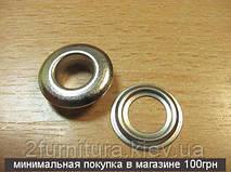 Люверсы (10мм) никель, 200шт 5038