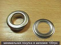 Люверсы (14мм) никель, 50шт 5037