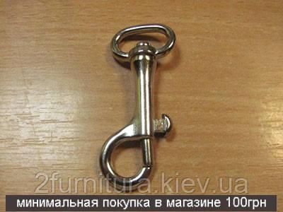 Карабины для сумок (17мм) никель, 2шт 4031