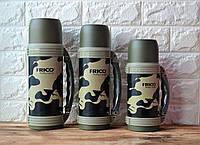 Вакуумный Термос Frico камуфляж, фото 1