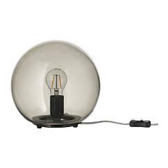 Настольная лампа IKEA FADO серая 403.563.00