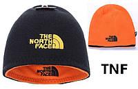 Зимняя шапка на флисе The North Face (двухсторонняя) Replica