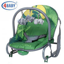Шезлонг 4baby (Jungle) Green