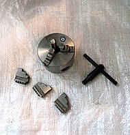 Патрон токарный 80 мм 3-х кулачковый