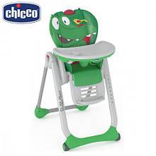 Стульчик для кормления Chicco - Polly 2 Start (79204.67) Crocodile