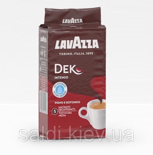 Кофе Лавацца Lavazza Dek Intenso 250g