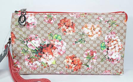 Женская косметичка- кошелёк три отдела, фото 2