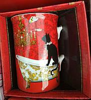 Кружка с кошкой в подарочной упаковке
